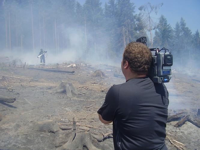 Pozeráš obrázky z galérie: Požiar - Vysoká, Živáková - 19.6.2009