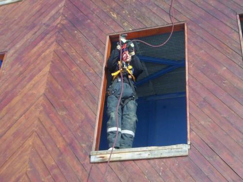 Pozeráš obrázky z galérie: Lezecký výcvik, 16. 2. 2008, DHZ Korňa